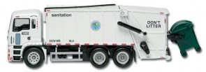 New York City Sanitation Department Garbage Truck RT8957