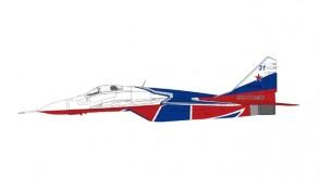 Russian Air Force Mikoyan MIG-29 Fulcrum Микоян МиГ-29 Strizhi Aerobatic Team 2019 Hobby Master HA6511a scale 1:72
