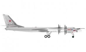 Russian Air Force Tupolev TU-95MS 184th Engels Vorkuta Herpa 571579 scale 1:200