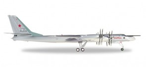 "Russian Air Force Tupolev TU-95MS ""Bear H"" Herpa 559874 scale 1:200"
