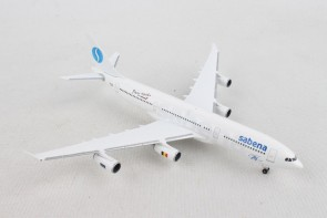 Sabena Airbus A340-200 OO-SCX 75th anniversary 532655 Herpa scale 1:500
