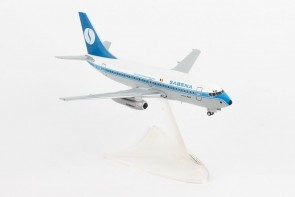 Sabena Boeing 737-200 USA OO-SDN Belgian world Airlines Herpa 559942 Scale 1:200