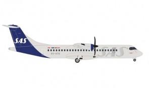 SAS Scandinavian ATR-72-600 ES-ATO die cast Herpa 535472 scale 1:500