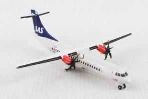 SAS Scandinavian ATR-72-600 G-FBXE die cast Herpa 533034 scale 1:500