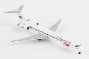 SAS Scandinavian Douglas MD-82 OY-KGT Hake Viking Herpa 533355 scale 1:500