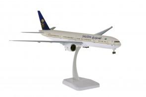 Saudia Boeing 777-300 HZ-AK43 gears & stand Hogan HG11175G scale 1:200