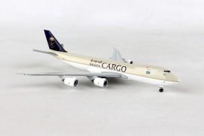 Saudia Cargo Boeing 747-8F HZ-AI3 Herpa 532891 scale 1:500