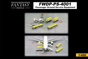 Second edition Passenger ground service equipment FWDP-PS-4001 by Fantasy Wings Scale 1:400