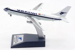 Servivensa-Panam Venezuela Boeing 737-200 YV-79C El Aviador/InFlight with stand EAV79C scale 1:200