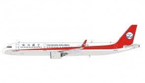 Sichuan Airlines Airbus A321-200 B-307D 四川航空 NG Models 13006 scale 1400