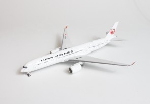Silver JAL Japan Airlines Airbus A350-900 JA02XJ Phoenix 04278 scale 1400