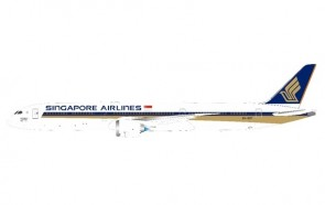 Singapore Airlines 1000th Dreamliner Boeing 787-10 9V-SCP JFox/Inflight WB-787-10-002 scale 1:200