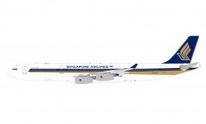 Singapore Airlines Airbus A340-313 9V-SJG With Stand WB-A340-005 scale 1:200