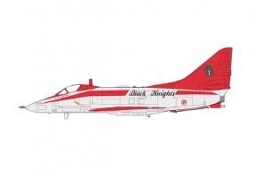 Singapore RSAF A-4SU Super Skyhawk 'Black Knights' Fight Lead Hobby Master HA1432W scale 1:72