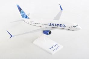 United 737-800 Boeing 737-800  New Livery N37287 Skymarks SKR1028 1:130