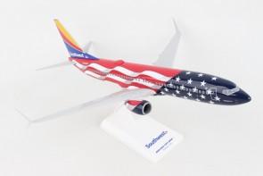 """Southwest 737-800 1/130 """"Freedom One""""  N500WR  Southwest  SKR1087 Scale 1:130"""