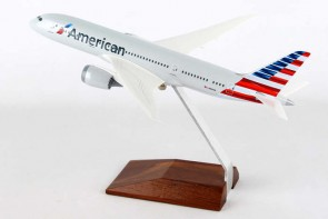 American 787-8 Reg# N800AN Dreamliner With Wood Stand Skymarks SKR5088 1:200