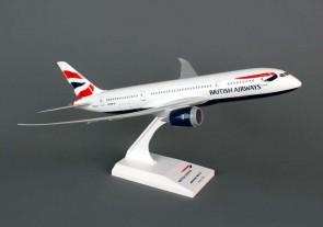 British Airways Boeing 787-8 Dreamliner With Stand Skymarks SKR694 Scale 1:200