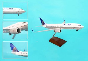 Skymarks United 737-800 1/100 Post Co Merger Livery