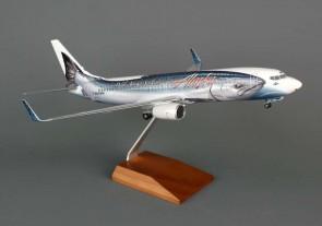 Skymarks Alaska Salmon Thirty Salmon W/Gear 737-800 1/100