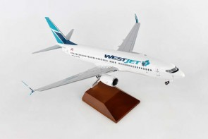 WestJet Boeing B737-800 New Livery with Wood stand and Gears Skymarks Supreme SKR8258 Scale 1:100