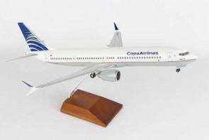 Copa 737-900 Max Wood stand &Gears Skymarks SKR8264 1:100
