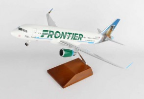 Frontier Airbus A320 sharklets Reg# N236FR Marty the Marmot Wood Stand Skymarks Supreme SKR8330 Scale 1:100