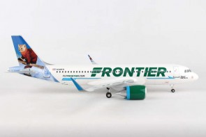 "Frontier A320neo N328FR  ""Scout the Pine Marten""  Supreme SKR8355 scale 1:100"