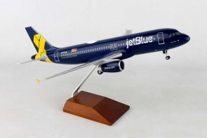 "JetBlue Airbus A320 ""Vets in Blue"" Skymarks Supreme SKR8356 scale 1:100"