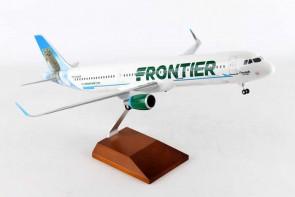 Frontier Airbus A321 sharklets registration N705FR Ferndale the Owl SKR8409 1:100