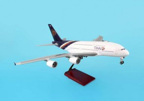 Thai International (Thailand) A380-800 W stand and Gears.  1:100 Scale