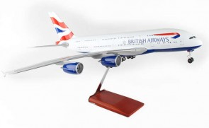 1:100 British Airways A380 W stand and Gears Skymarks SKR8504 1:100 Scale