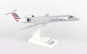 American Eagle Express ERJ145 1/100 EXPRESSJET CRJ-200 Skymarks SKR859 Scale  1:100