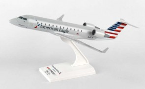 American Eagle CRJ-200 Skymarks With Stand SKR865 Scale 1:100