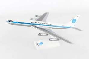 Pan American Boeing 707 registration N415PA with stand Skymark SKR877 Scale 1:150