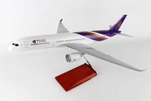 Thai Airbus A350 Reg# HS-THB Wooden Stand & Gears Skymarks Supreme SKR8802 Scale 1:100