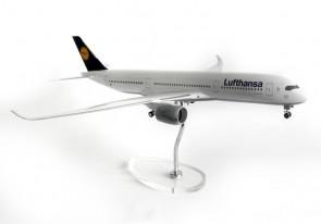 Lufthansa A350 Wood Stand & Gears Skymarks SKR8805 1:100