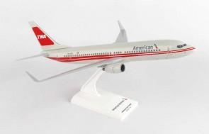 American Boeing 737-800 TWA Retro Skymarks SKR897 Scale model 1:130