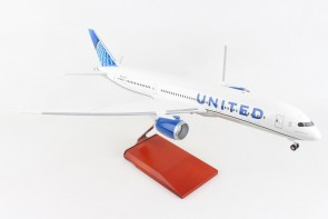 United Boeing 787-9 With Stand and Gears New livery Skymarks Supreme SKR9006 scale 1:100