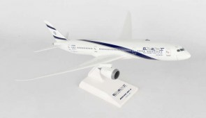 EL Al Boeing B787-9 Long Dreamliner With Stand SKR908 Skymarks Scale 1:200