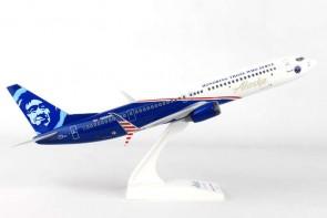 Alaska Airlines 737-900ER Veteran Akr Marks SKR917 Scale 1:130