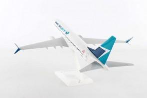 WestJet Boeing 737-Max8 stand, engines Scimitars Skymarks SKR919 scale 1:130