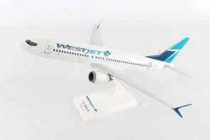 WestJet Boeing 737-Max8 with stand Skymarks SKR919 scale 1:130