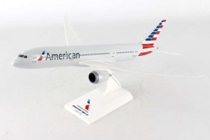 American Boeing B787-9 Long Dreamliner With Stand SKR936 Skymarks Scale 1:200