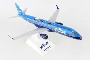 "JetBlue ERJ-190 Embraer ""Blueprint"" by Skymarks Supreme SKR690 Scale 1:100"