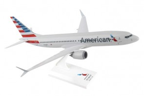 American Boeing 737-Max8 w/stand Skymarks SKR962 scale 1:130
