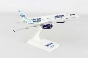 """JetBlue A320 """"Bluemanity"""" New Livery Skymarks SKR974 1:150"""