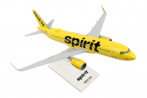 Spirit Airlines Airbus A320neo Yellow livery Skymarks SKR1011 scale 1:150