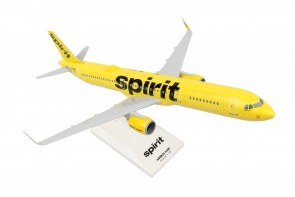 Spirit Airlines Airbus A321neo with WiFi dome Yellow livery Skymarks SKR1020 scale 1:150