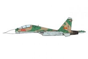 SU-30 MK2V Flanker-G Vietnam Air Force 923rd Fighter Regiment 2012 JC Wings JCW-72-SU30-009 scale 1:72